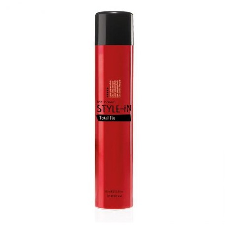 INEBRYA STYLE-IN TOTAL FIX EXTRA MOCNY LAKIER 500 ML