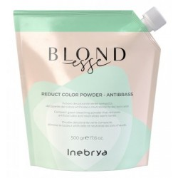 INEBRYA BLONDESSE REDUCT COLOR POWDER ANTIBRASS ROZJAŚNIACZ 500 G